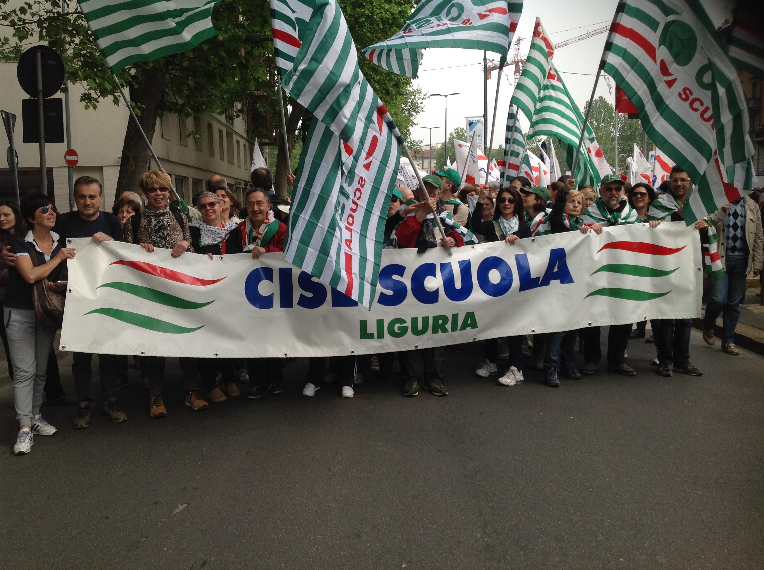 Pubblicato in 1 Cisl Scuola Liguria