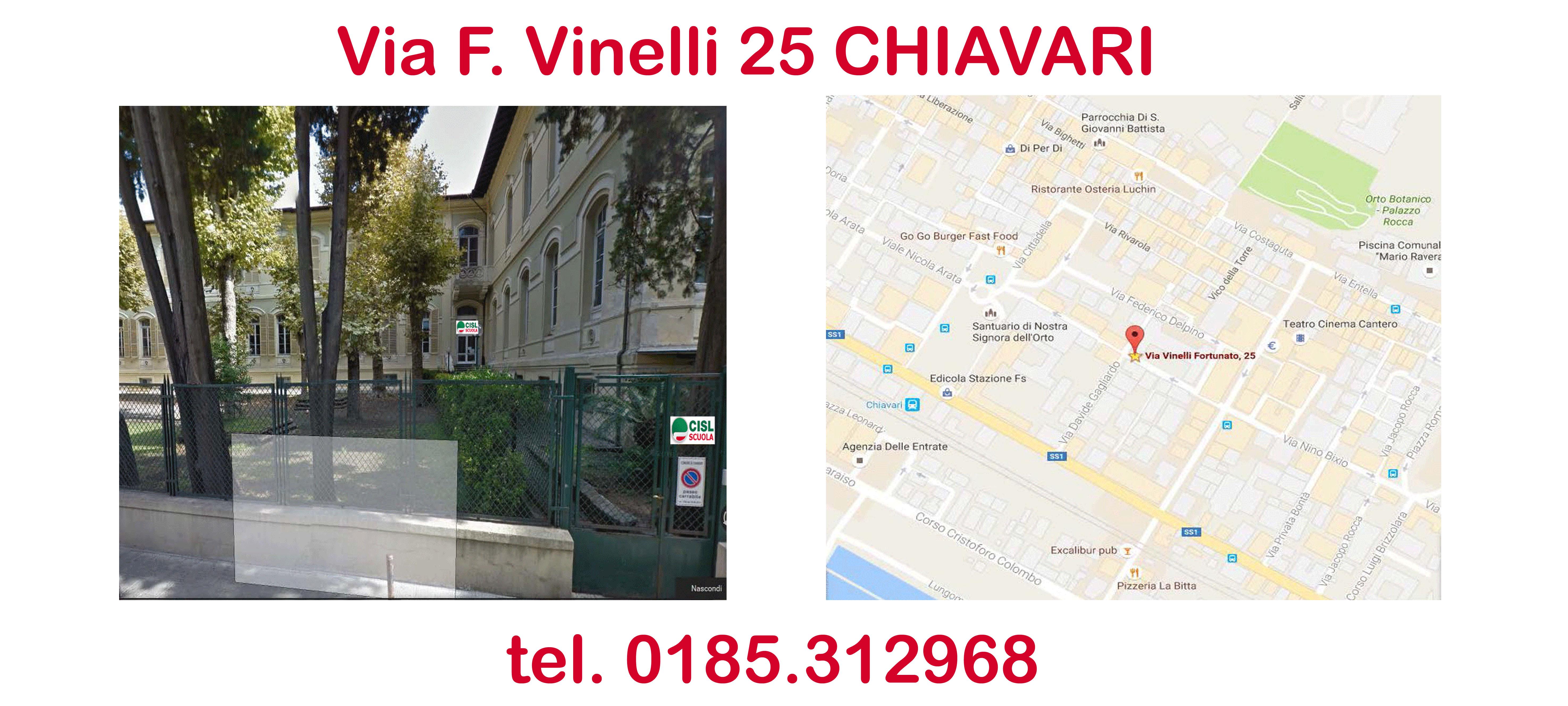 1 – Nuova sede di Chiavari